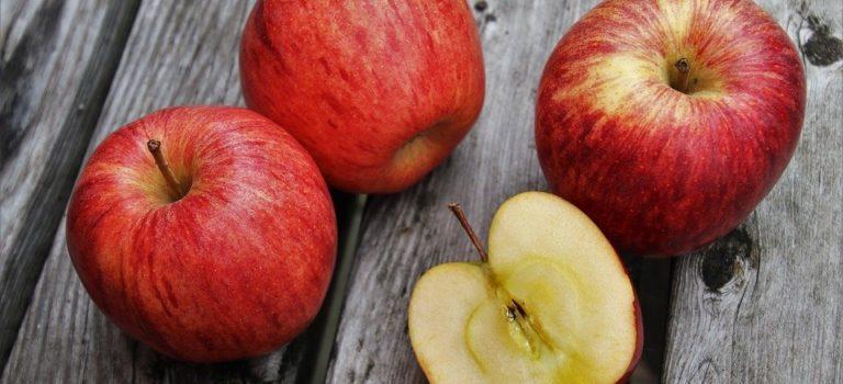 りんごの蜜はそこまで甘くない