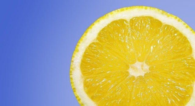 レモンの香りの変化
